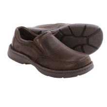 Born Blast II Leather Shoes - Slip-Ons (For Men) in Dark Brown Distressed Full Grain - Closeouts