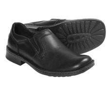 Born Bowie Shoes - Leather (For Men) in Black - Closeouts