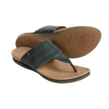 Born Brienne Sandals - Leather (For Women) in Olympic - Closeouts