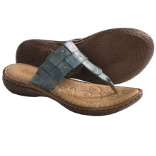 Born Cari Sandals - Leather (For Women) in Rey Full Grain - Closeouts