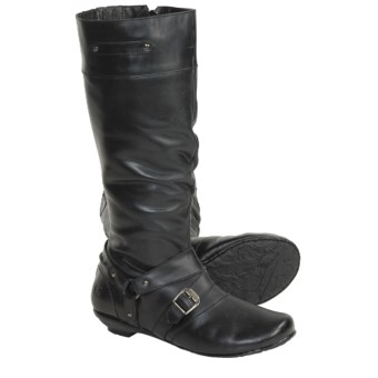 Born Cecelia Boots - Leather (For Women) in Black