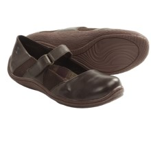 Born Connie Leather Shoes - Mary Janes (For Women) in Espresso - Closeouts