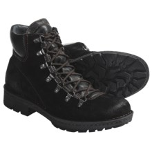 Born Convoy Boots - Suede, Lace-Ups (For Men) in Black Suede - Closeouts