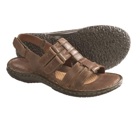 Born Dhabi Sandals - Leather (For Women) in Sunset Full Grain