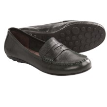Born Dinah Penny Loafer Shoes - Leather (For Women) in Forest - Closeouts