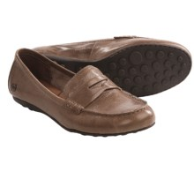Born Dinah Penny Loafer Shoes - Leather (For Women) in Taupe - Closeouts
