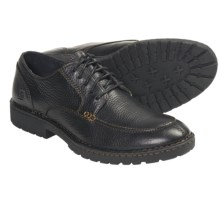 Born Doug Oxford Shoes - Leather (For Men) in Black - Closeouts