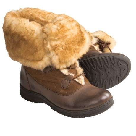 Born Filo Boots - Shearling-Lined (For Women) in Tan