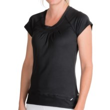 Born Fit Betty Shirt - Short Sleeve (For Women) in Black - Closeouts