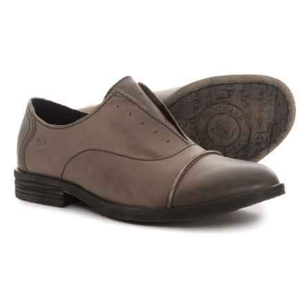 Born Forato Oxford Shoes - Leather (For Women) in Taupe - Closeouts