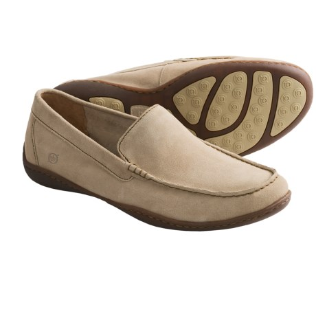 Born Harmon Shoes - Slip-Ons (For Men) in Desert Suede