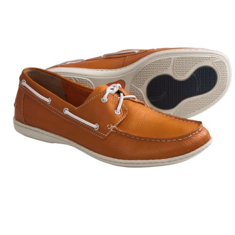 Born Henri Boat Shoes (For Men) in Crodino Full Grain
