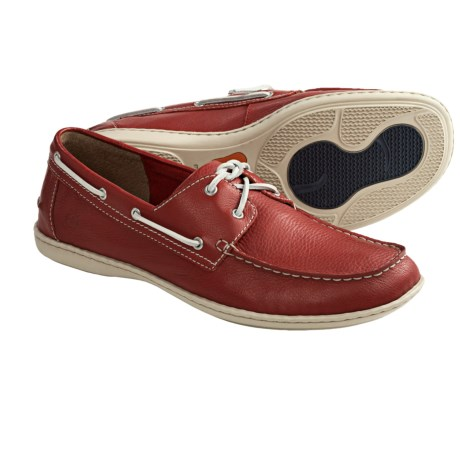 Born Henri Boat Shoes (For Men) in Red Carpet Full Grain