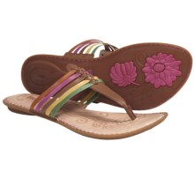 Born Hoda Sandals (For Women) in Citrus Multi Leather - Closeouts