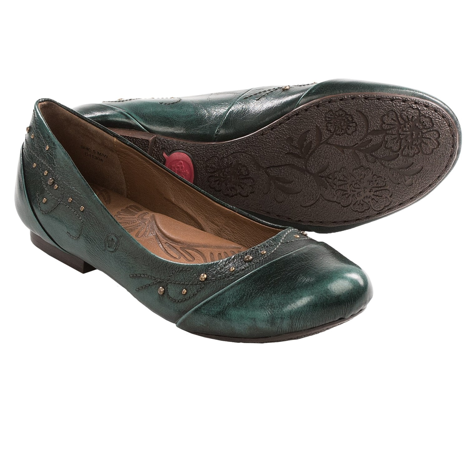 Born Holley Shoes - Leather (For Women) in Ocean