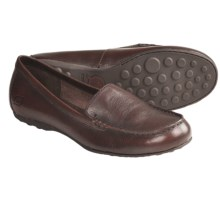 Born Joanie Shoes - Leather, Slip-Ons (For Women) in Dark Brown Burnished - Closeouts