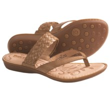 Born Joya Sandals - Leather (For Women) in Tan Burnished - Closeouts