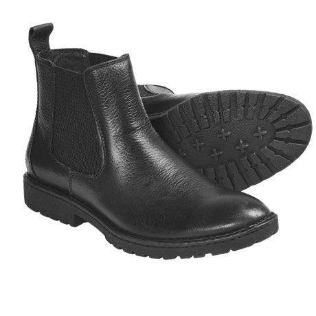 Born Julian Ankle Boots - Leather (For Men) in Black
