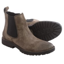 Born Julian Chelsea Boots - Suede (For Men) in Anthracite Suede - Closeouts