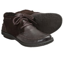 Born Kapona Ankle Boots - Leather (For Women) in Dark Brown - Closeouts