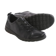 Born Kester Leather Shoes - Lace-Ups (For Women) in Black Full Grain - Closeouts