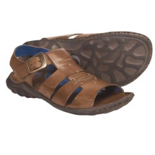 Born Kipp Fisherman Sandals - Leather (For Men) in Whiskey Leather - Closeouts