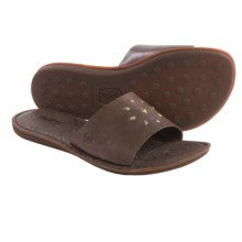 Born Koalina Leather Sandals (For Women) in Coffee Full Grain - Closeouts