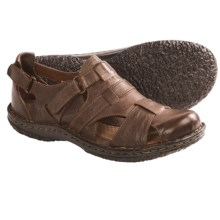 Born Lakelyn Sandals - Leather (For Women) in Tan Leather - Closeouts