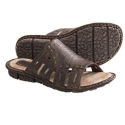 Born Laramie Sandals - Leather (For Women) in Espresso Full Grain