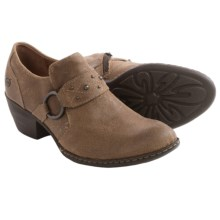 Born Lorlei Leather Shoes (For Women) in Taupe Distressed Suede - Closeouts