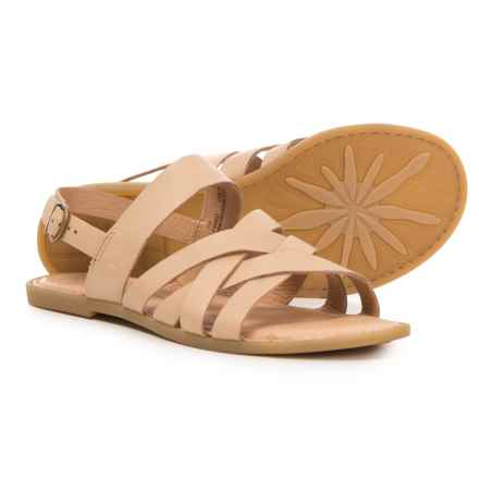 Born Lovely Sandals - Leather (For Women) in Natural Leather