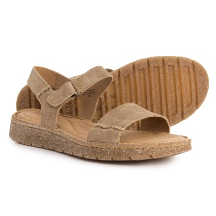 f0809753b043 Born Madira Sandal - Suede (For Women) in Taupe Suede