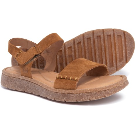 9bd0ea4fee6c Born Madira Sandals - Suede (For Women) in Tan