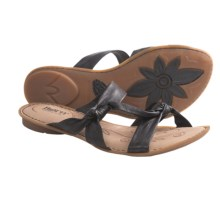Born Mady Sandals - Leather (For Women) in Black Leather - Closeouts