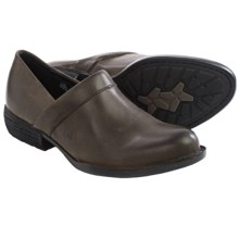 Born Marka Leather Shoes - Slip-Ons (For Women) in Cloudy - Closeouts
