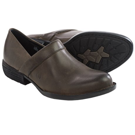 Born Marka Leather Shoes Slip Ons (For Women)