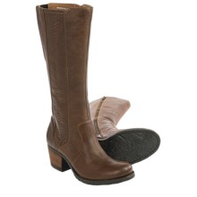 Born May Tall Leather Boots (For Women) in Tan Full Grain - Closeouts