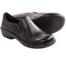 Born Milanya Shoes - Slip-Ons (For Women) in Black Full Grain - Closeouts
