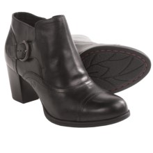 Born Morgane Ankle Boots - Leather (For Women) in Black Full Grain - Closeouts