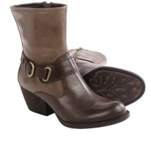 Born Nevica Boots - Leather (For Women) in Espresso/Antilope Combo - Closeouts