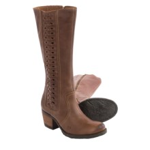 Born Ochoa Suede Boots (For Women) in Tan Full Grain - Closeouts