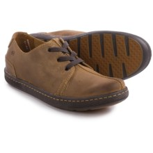 Born Ortiz Split Toe Lace Shoes - Suede (For Men) in Dijon Suede - Closeouts
