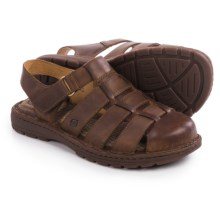 Born Osmond Fisherman Sandals (For Men) in Mink Full Grain - Closeouts