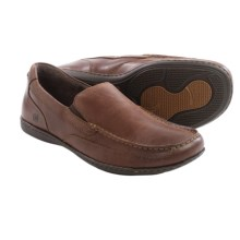 Born Paine Leather Shoes - Slip-Ons (For Men) in Nut Full Grain - Closeouts