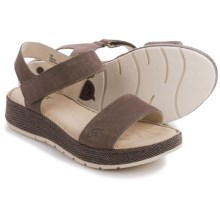 Born Petula Sandals - Nubuck (For Women) in Grey Washed Nubuck - Closeouts