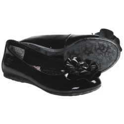 Born Precious Shoes - Flats, Leather (For Girls) in Black Patent