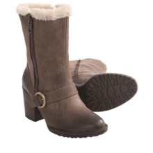 Born Rhoslyn Boots - Shearling Lining (For Women) in Anthracite - Closeouts