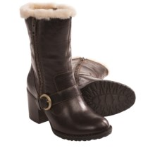 Born Rhoslyn Boots - Shearling Lining (For Women) in Canoe - Closeouts