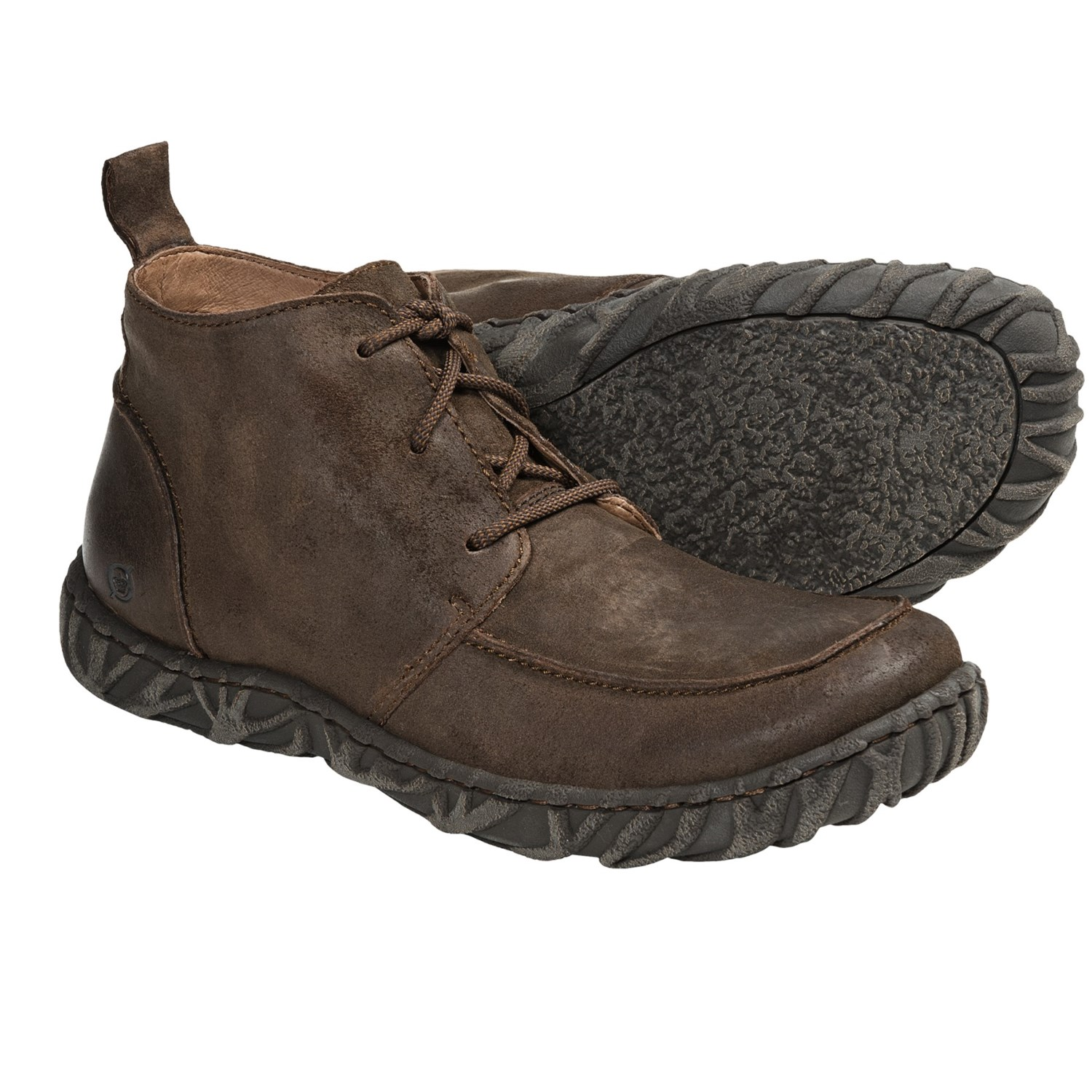 Born Ryder Chukka Boots - Suede (For Men) in Tobacco Suede
