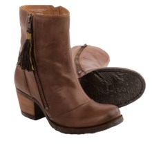 Born Salazar Leather Boots (For Women) in Tan Full Grain - Closeouts